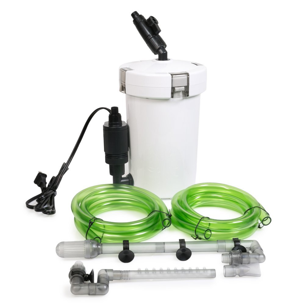Oxyful 106 gph aquarium pond 3 stage external cleaner for Pond canister filter