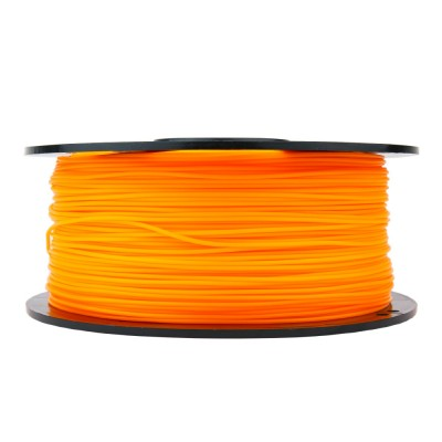 pla translucent orange 3d printer filament