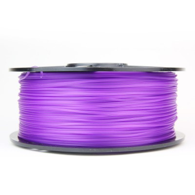 pla translucent purple 3d printer filament