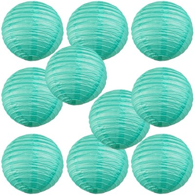 "12"" Paper Lantern Sea Green"