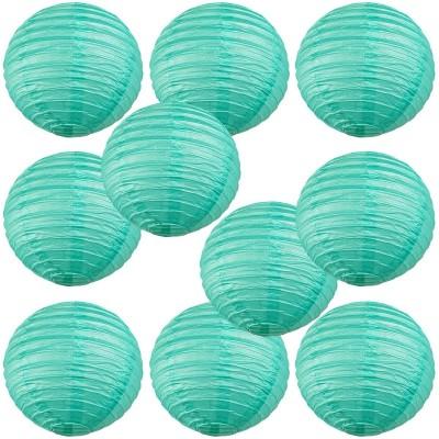"14"" Paper Lantern Sea Green"
