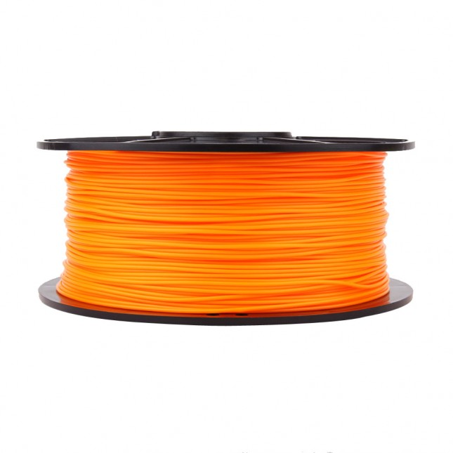 pla orange 3d printer filament