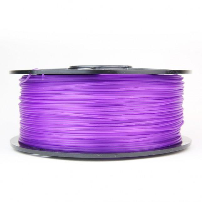 pla translucent purple 3d printer filament