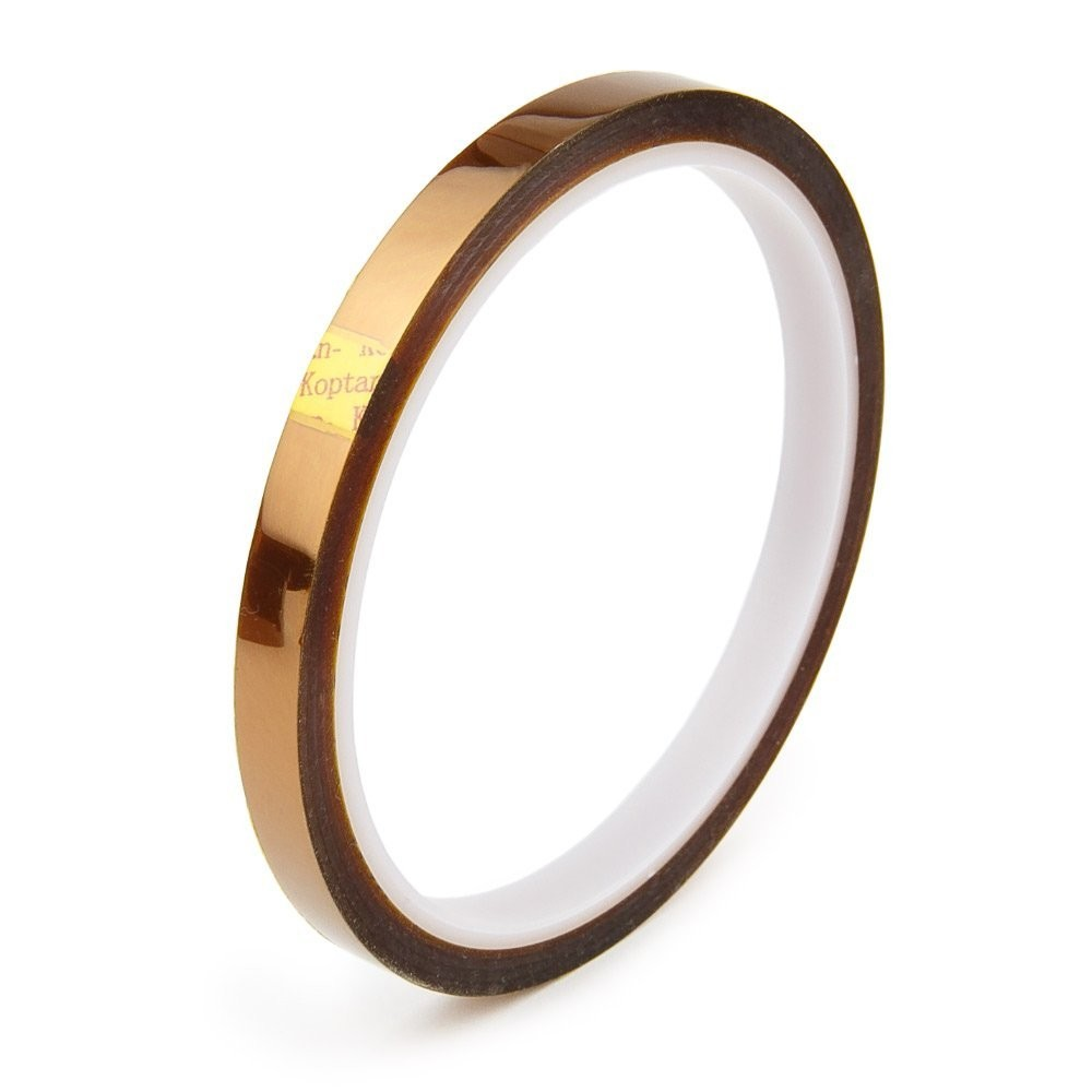 High Temperature Polyimide Tape Heat Resistant Gold