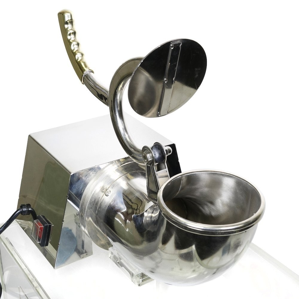 Stainless Steel Snow Cone Machine : W heavy duty electric snow cone ice shaver machine