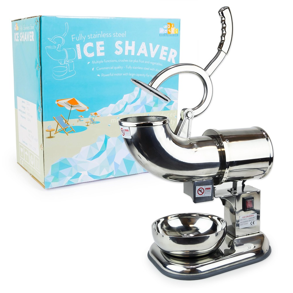 ice shaver package - Commercial Snow Cone Machine