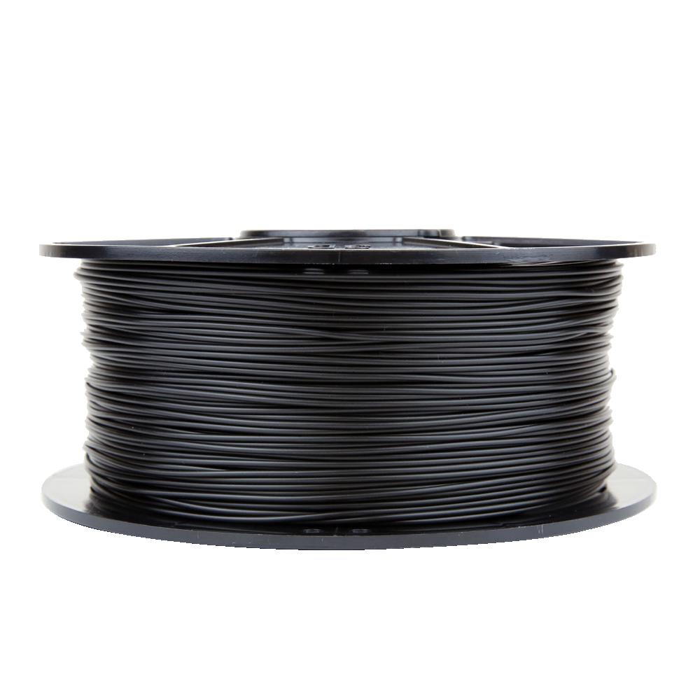 BLACK 1kg / 2.2lbs 3D Printer Filament