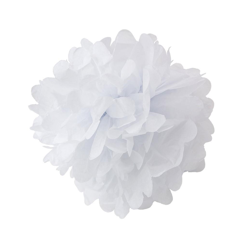 how to make small paper pom poms