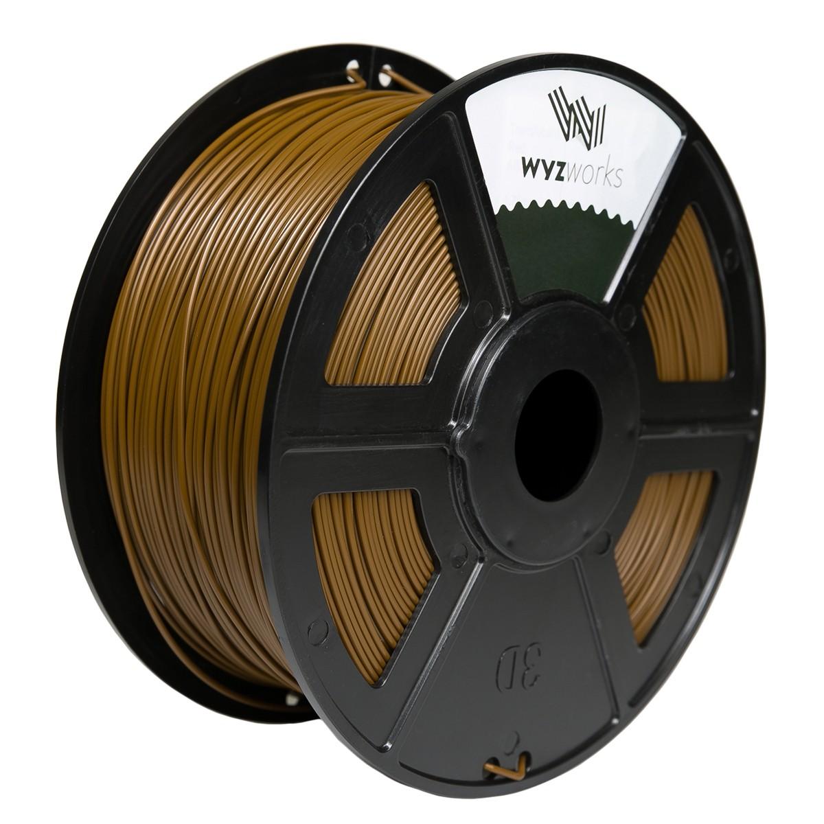 BROWN 3D Printer Filament 1kg / 2.2lbs