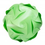 Puzzle Lamp Medium Green #1
