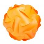 Puzzle Lamp Medium Orange #1