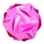 Puzzle Lamp Medium Pink #1