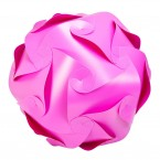Puzzle Lamp Large Pink #1