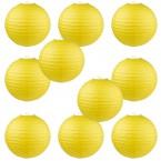 "8"" Paper Lantern Yellow #2"