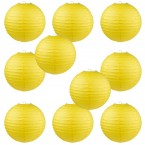 "12"" Paper Lantern Yellow #1"