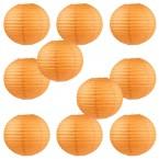 """8"""" Paper Lantern Orange #1"""