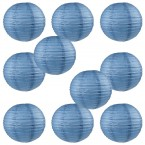 "12"" Paper Lantern Neptune Blue #1"