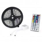 12V 300 LED Flexible SMD 5050 Multi-Color Light Ribbon Strip + 44Key Remote Control