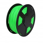 abs fluorescent green 3d printer filament