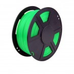 abs translucent green 3d printer filament