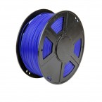 pla translucent blue 3d printer filament