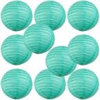 "8"" Paper Lantern Sea Green"