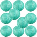 "10"" Paper Lantern Sea Green"