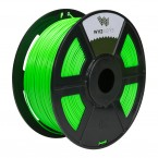 pla fluorescent green 3d printer filament