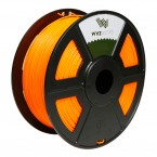 pla fluorescent orange 3d printer filament