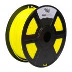 pla fluorescent yellow 3d printer filament