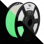 3D Printer Premium Filament White Glow Green PLA 1.75mm