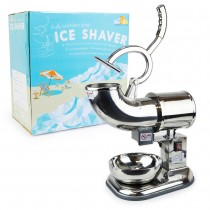 Commercial Heavy Duty Stainless Steel 440lb/h Sno Snow Cone Ice Shaver Shaved Icee Maker Machine