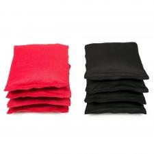 Cornhole Bag Black/Red