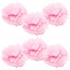 6pk pink pom pom
