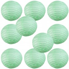 """8"""" Paper Lantern Seafoam Green"""