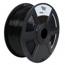 PLA - BLACK 3D Printer Filament 1kg / 2.2lbs