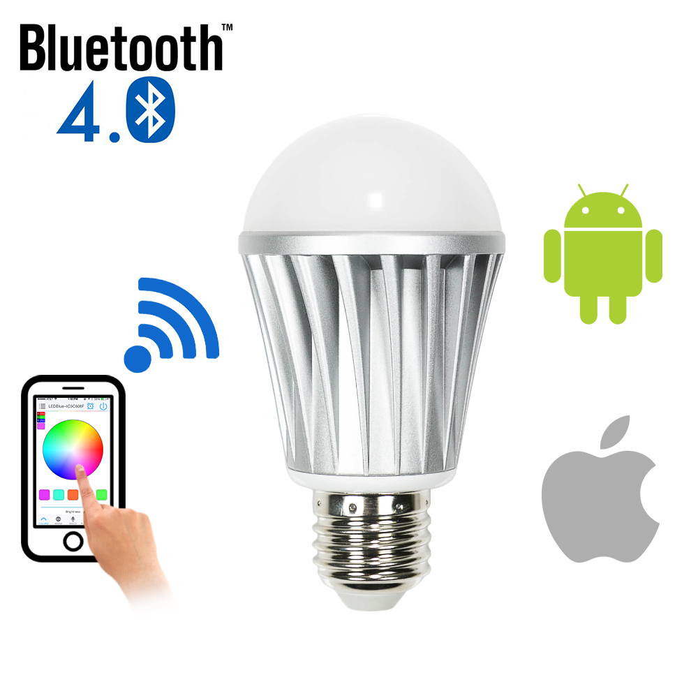 bluetooth smart led dimmable light bulb