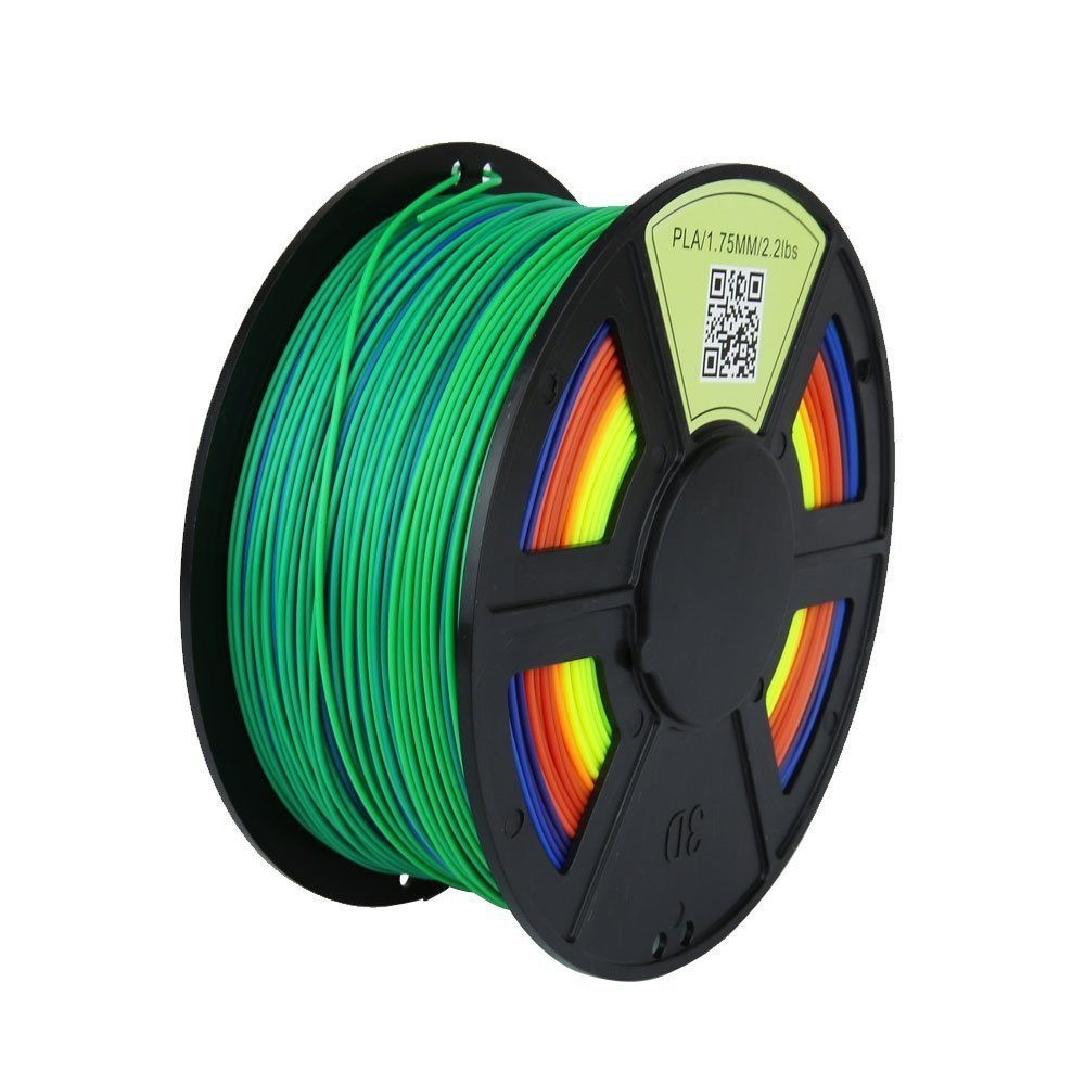 Rainbow Pla Filament 1 75mm Wyz Works