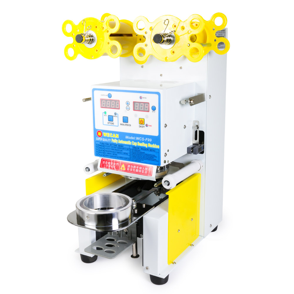 450W Electric Fully Automatic Tea Cup Sealing Machine 400 ...