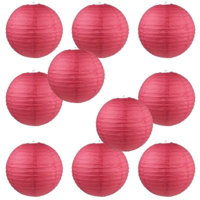 """10"""" Paper Lantern Red #1"""