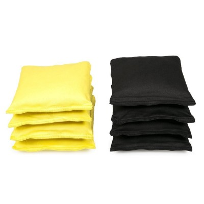 Cornhole Bag Black/Yellow