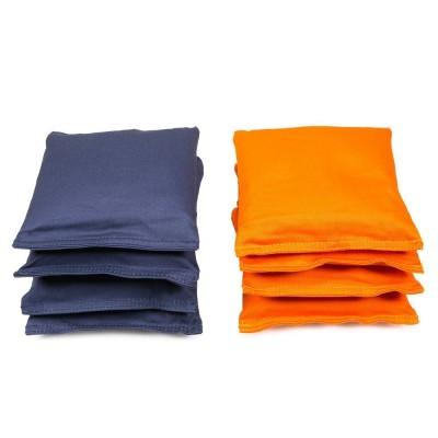 Cornhole Bag Navy/Orange