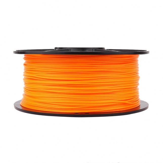 abs orange 3d printer filament