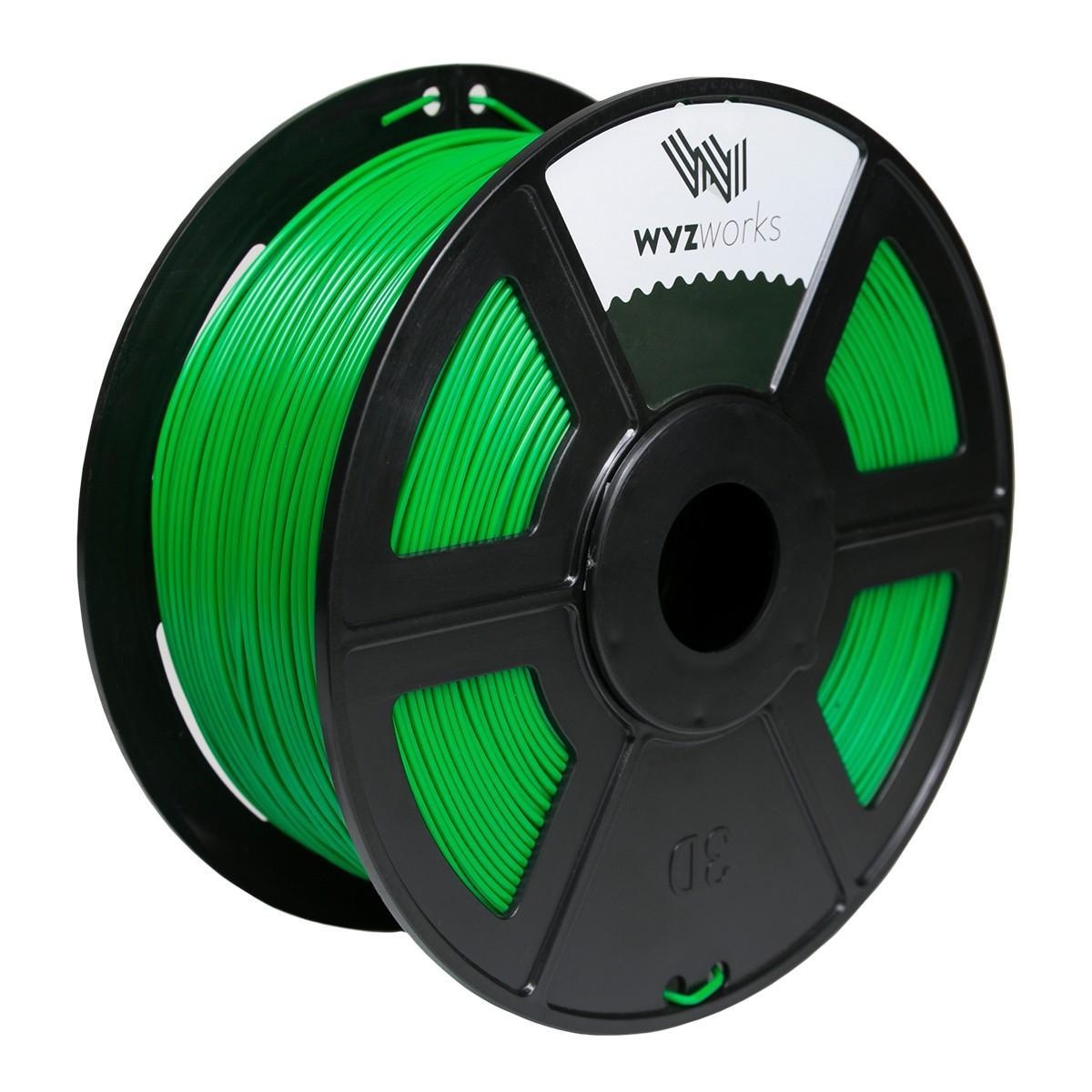 GREEN 3D Printer Filament 1kg / 2.2lbs