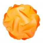 Puzzle Lamp Medium Orange #1