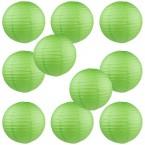 "8"" Paper Lantern Green #2"