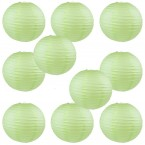 "16"" Paper Lantern Light Apple Green #1"