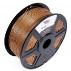 pla dark gold 3d printer filament