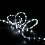 led rope light cool white 50 feet