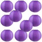 "8"" Paper Lantern Purple #1"